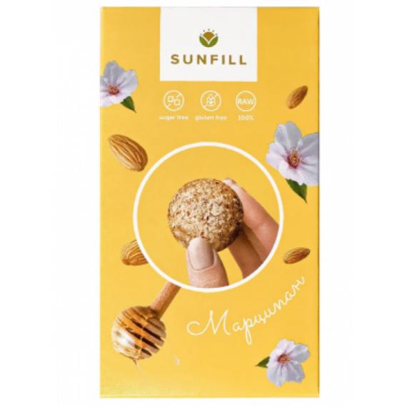 Цукерки марципан, 150г Sunfill