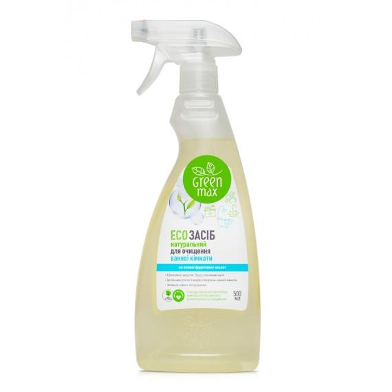 Eco засiб для прибирання ванної кiмнати, 500 мл Green Max