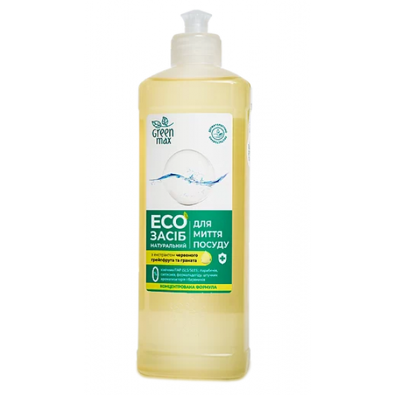 Eco засiб для миття посуду, 500 мл Green Max