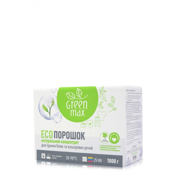 Eco порошок, 1 кг Green Max