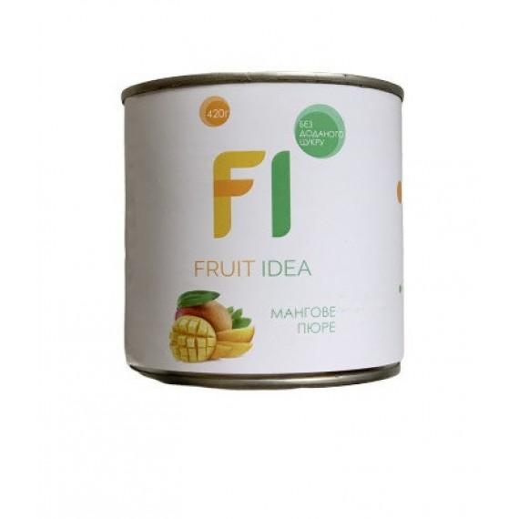Пюре манго, 420г Fruit Idea