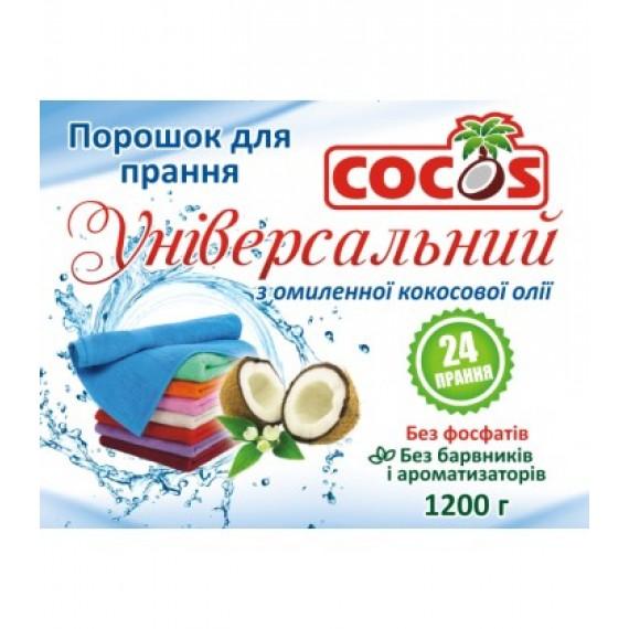 Пральний порошок з омиленної кокосової олії 1200гр