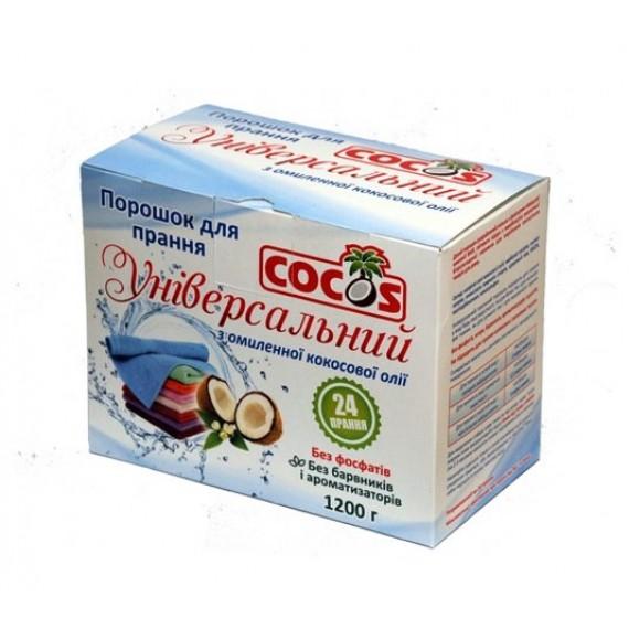Пральний порошок з омиленної кокосової олії, 1200г Cocos