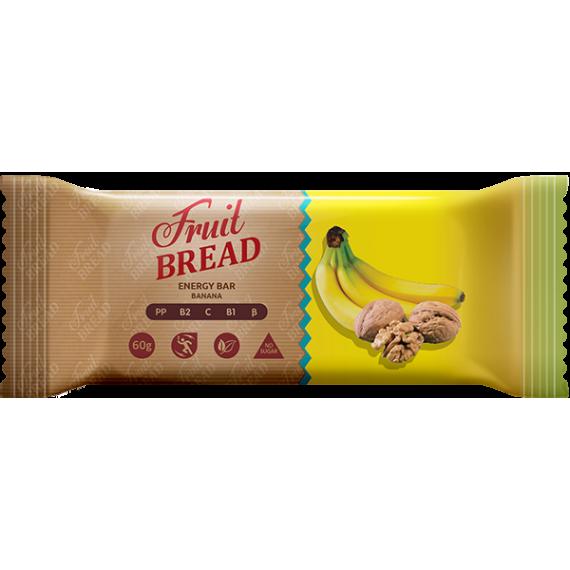 """Батончик """"Банановий"""", 60 г Fruit Bread"""