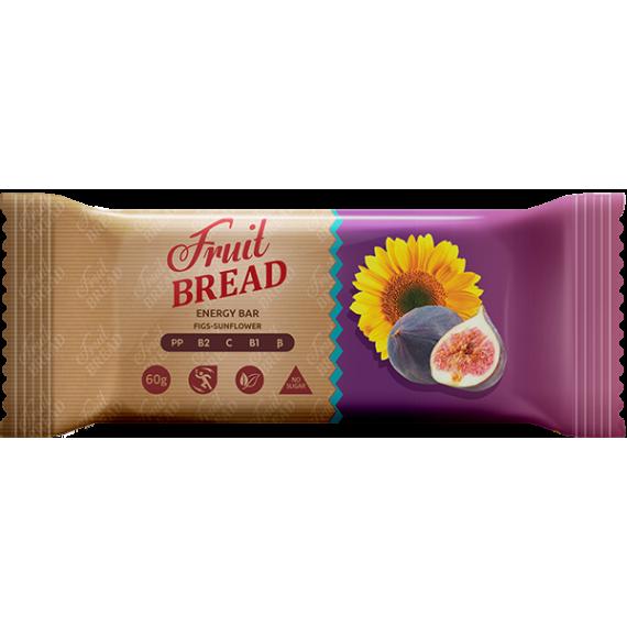 """Батончик  """"Iнжир - соняшник"""", 60 г Fruit Bread"""