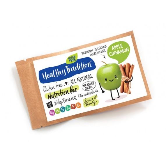 Поживний батончик яблуко-кориця, 20 г Healthy Tradition