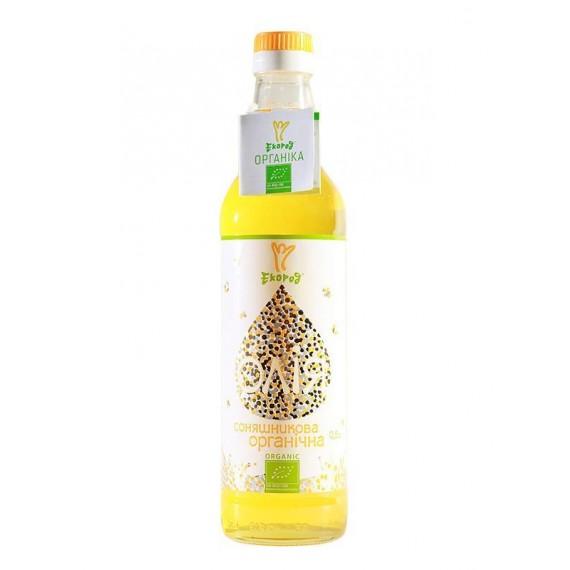 Соняшникова органічна олія, 500мл Екород