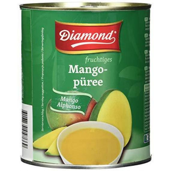 Пюре манго Альфонсо, 850г Diamond
