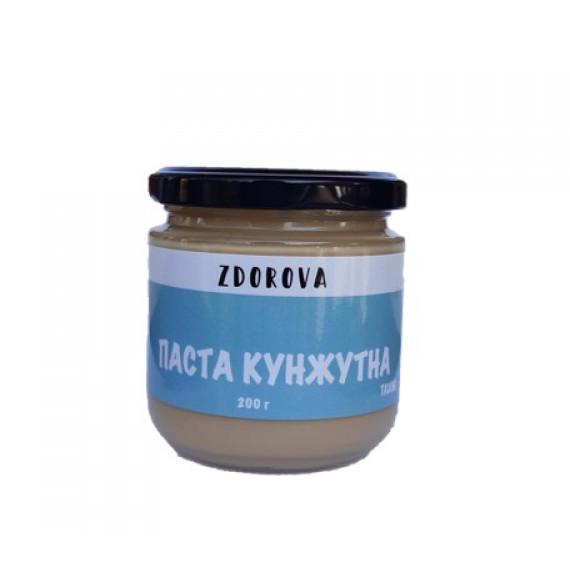 Кунжутна паста (тахіні), 200г ZDOROVA
