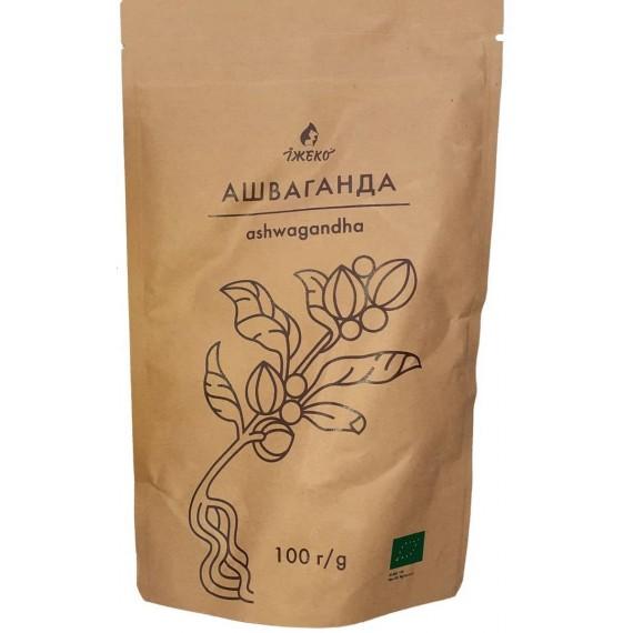 Органічний порошок Ашваганда, 100г Їжеко