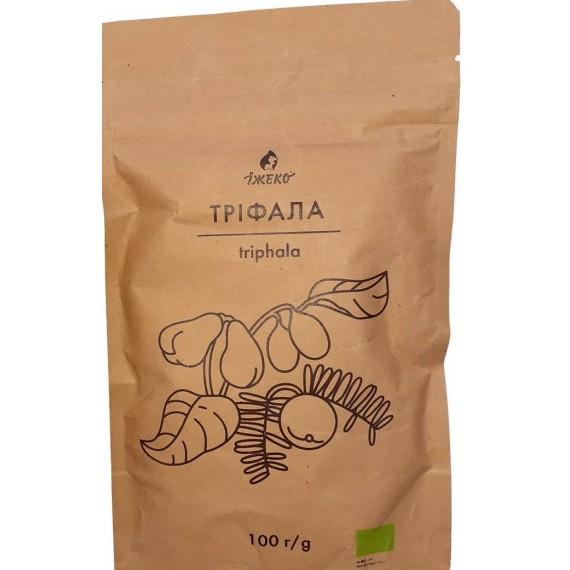 Органічний порошок Тріфала, 100г Їжеко