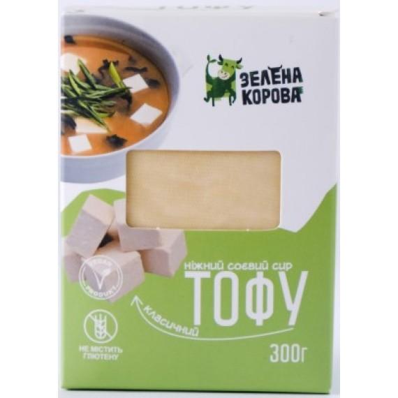 Тофу класичний, 300г Зелена корова