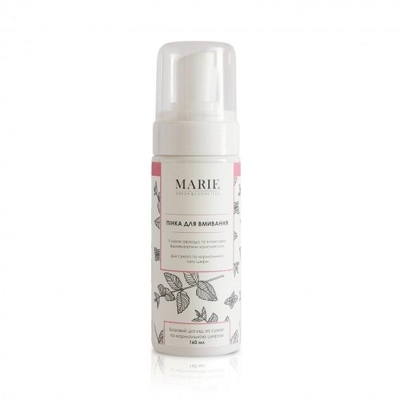 Пінка для вмивания для сухої та нормальної шкіри,160мл Marie Fresh Cosmetics
