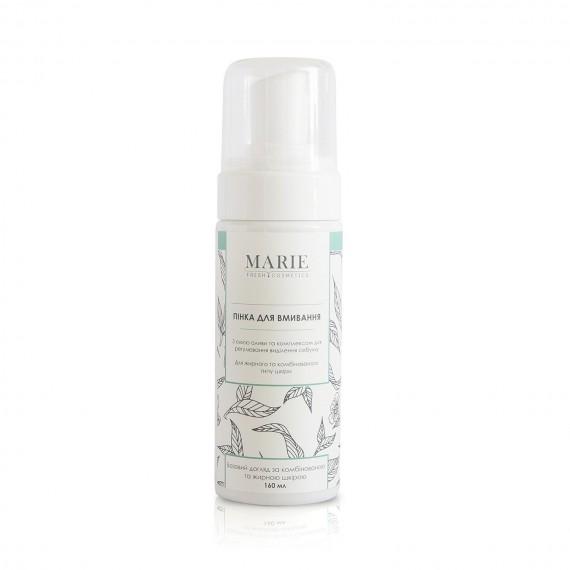 Пінка для вмивания для жирної та комбінованої шкіри, 160мл Marie Fresh Cosmetics