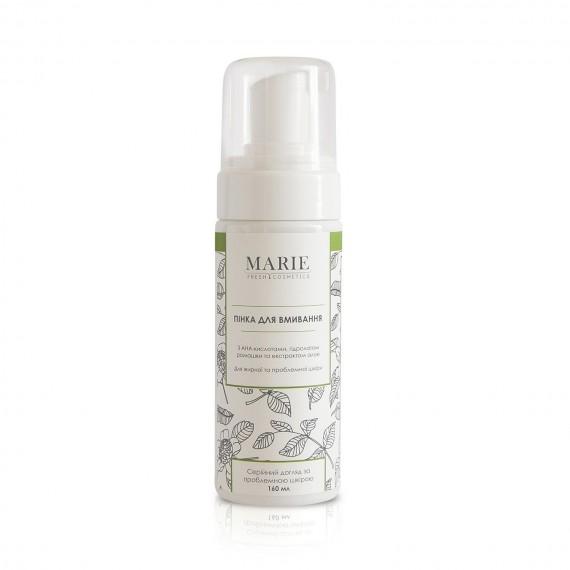 Пінка для вмивания для проблемної шкіри, 160мл Marie Fresh Cosmetics