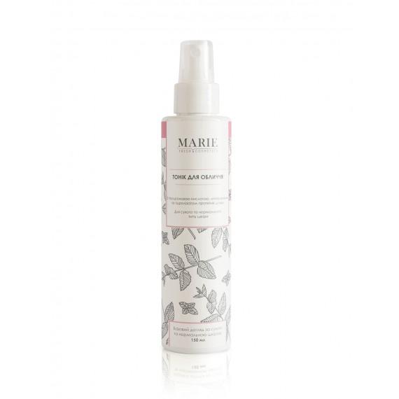 Тонік для сухої та нормальної шкіри, 150мл Marie Fresh Cosmetics