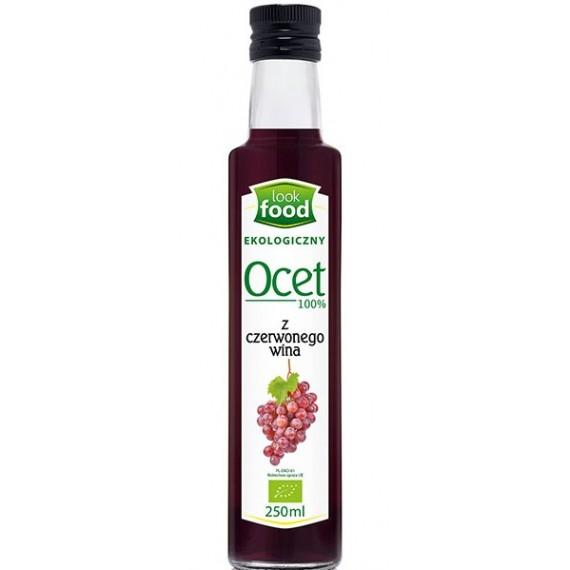Органічний червоний винний оцет, 250мл Look Food
