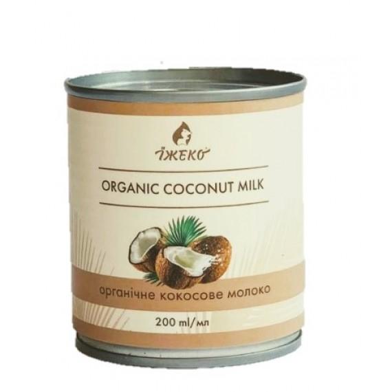 Органічне кокосове молоко, 200мл Їжеко