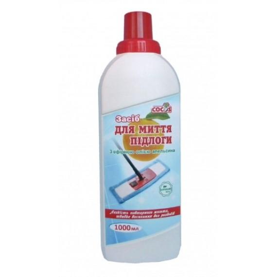 Засіб для миття підлоги з ефірною олією апельсина, 1000мл Cocos