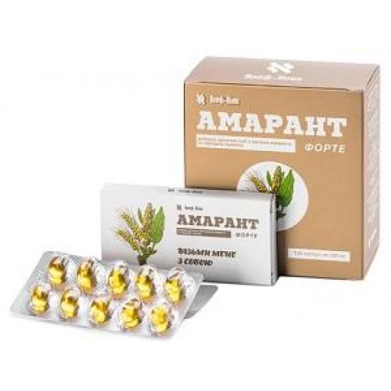 Дієтична добавка Амарант, 100капсул Алеф-Коен