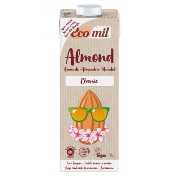 Органічний мигдальний напій Classic, 1л Ecomil