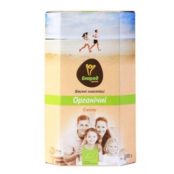Вівсяні пластівці Creamy органічні, 300г Екород