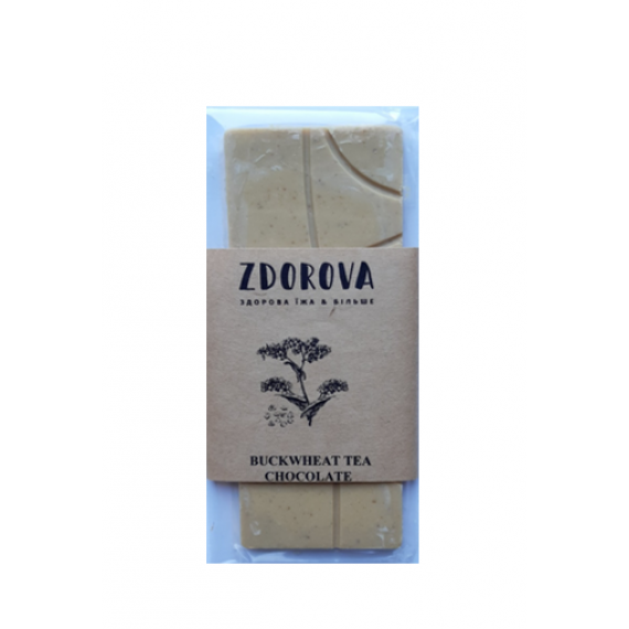 Шоколад Ку Цяо (гречишний), 30г ZDOROVA