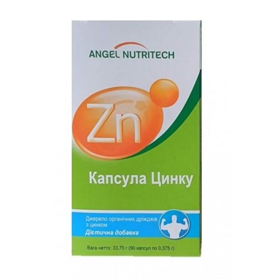 Цинк, 90 капсул Аngel Nutritech