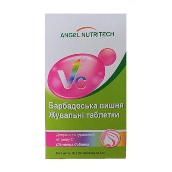 Вітамін С - Барбадоська вишня (Ацерола), 90 таблеток Аngel Nutritech