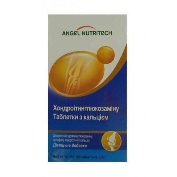 Хондроітинглюкозамін (Кальцій), 60 таблеток Angel Nutritech