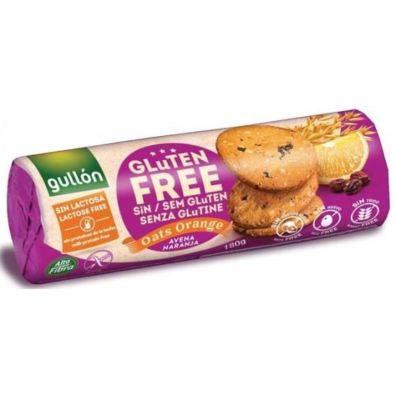 """Безглютенове печиво """"Oats Orange"""", 180г Gullon"""