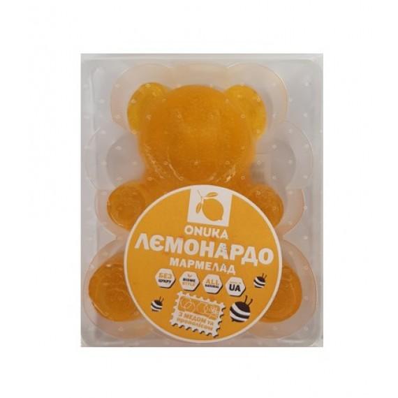 Мармелад на меду Лимон, 100г Onuka