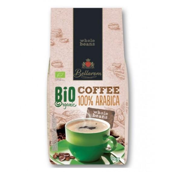 Органічна кава в зернах 100% Арабіка, 1кг Bellarom