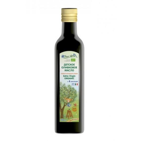 Органічна оливкова олія для дітей, 250мл Fleur Alpine