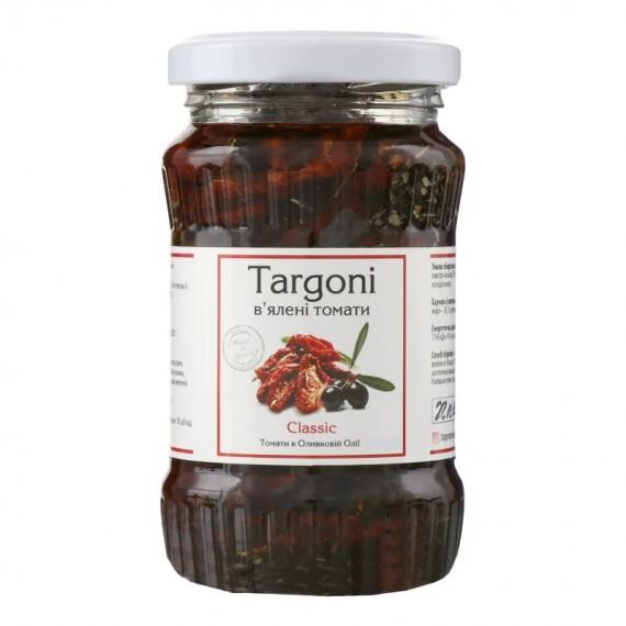 В'ялені томати (помідори) в оливковій олії, 285г Targoni