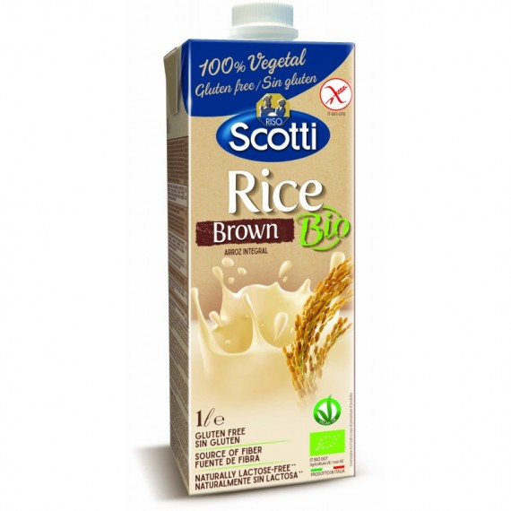 Напій з коричневого рису органічний, 1л Scotti