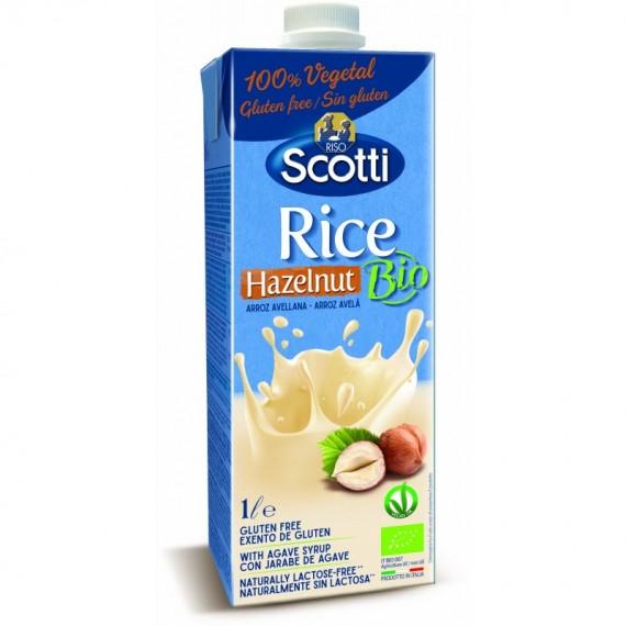 Напій рисовий з фундуком органічний, 1л Scotti