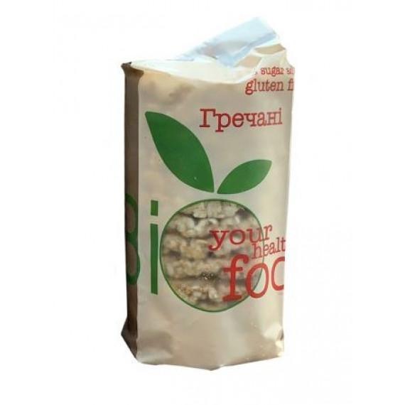 Хлібці хрусткі гречані, 100г Biofood
