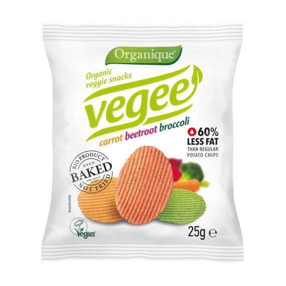 Чіпси картопляні з овочами Vegee Organique, 25г McLLOYD'S
