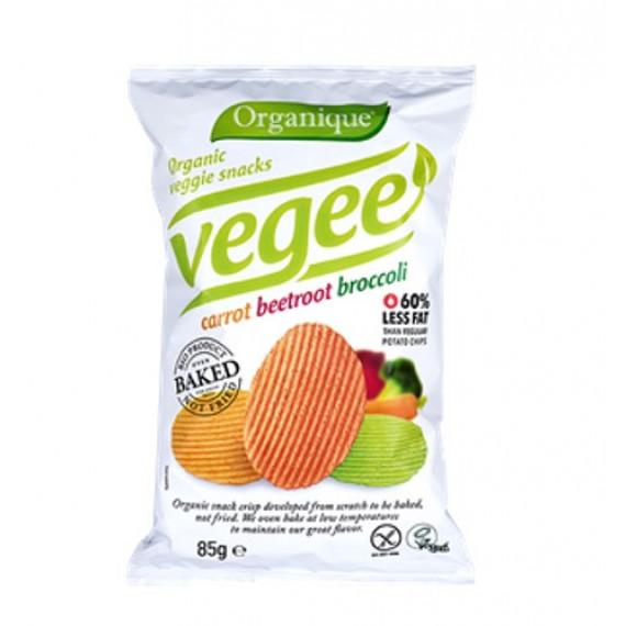 Чіпси картопляні з овочами Vegee Organique, 85г McLLOYD'S