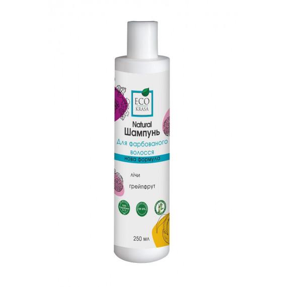 Натуральний шампунь для фарбованого волосся, 250 мл, EcoKrasa