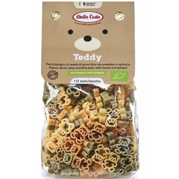 Макарони Teddy з пшеничного борошна твердих сортів органічні (для дитячого харчування), 200г Dalla Costa