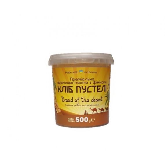 Арахісова паста з фiнiками Хліб пустелі, 500г Master Bob