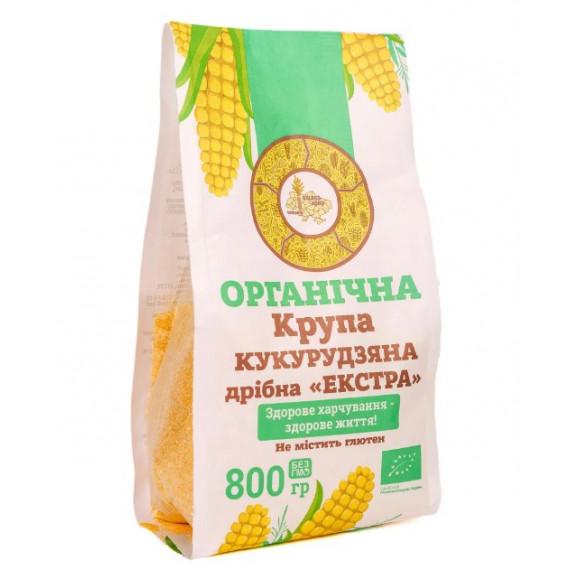 Крупа кукурудзяна органічна, 800г Galeks-Agro