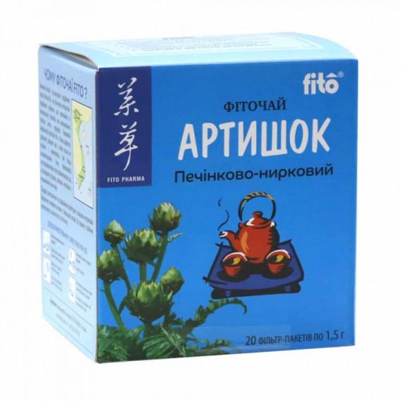Фіточай печінково-нирковий Артишок, 20 пакетиків Fito Pharma