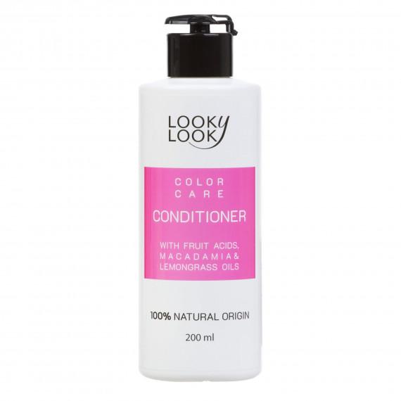 Кондиціонер для фарбованого волосся з фруктовими кислотами, 200мл Looky Look