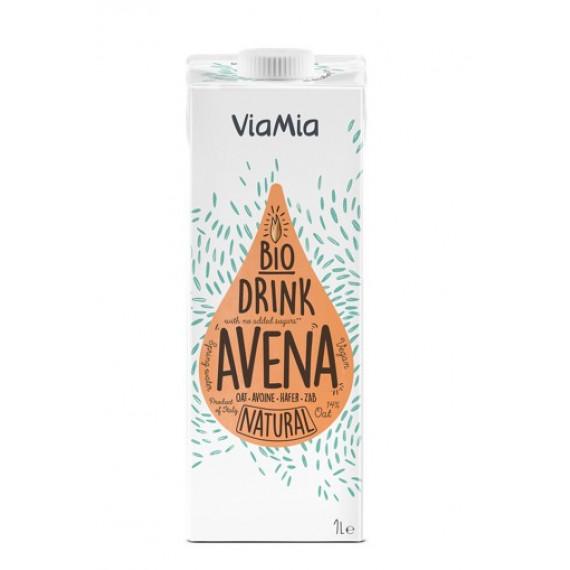 Напій вівсяний без цукру органічний, 1л Via Mia