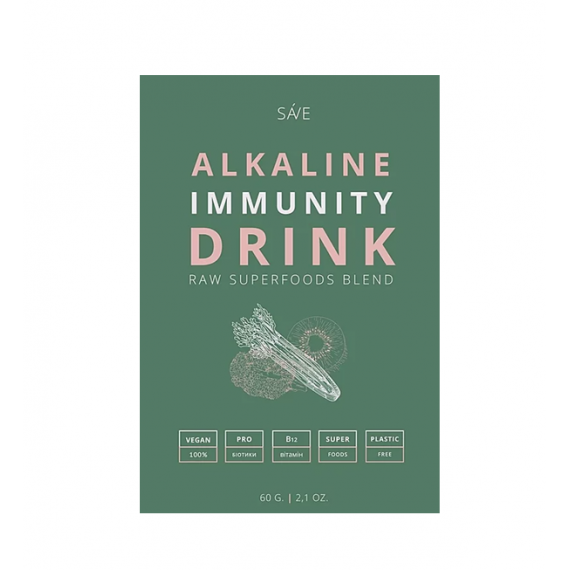 Суміш суперфудів ALKALINE IMMUNITY DRINK, 60г