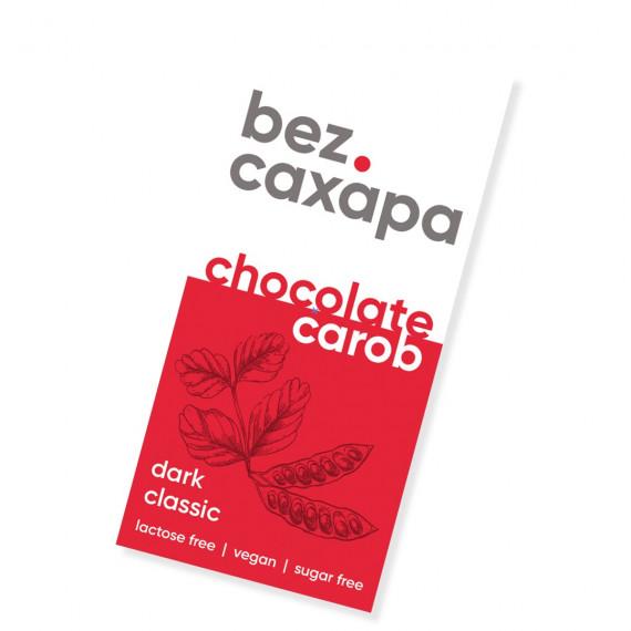 Чорний шоколад, 90г bez.CAXAPA