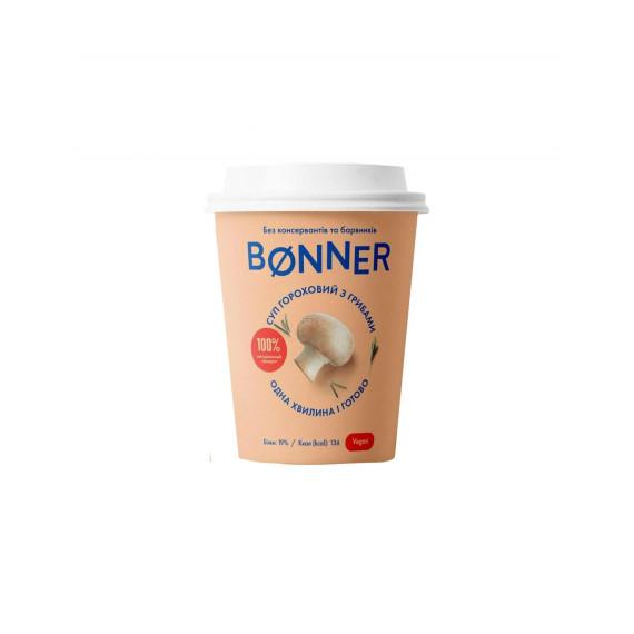 Крем-суп гороховий з грибами, Bonner